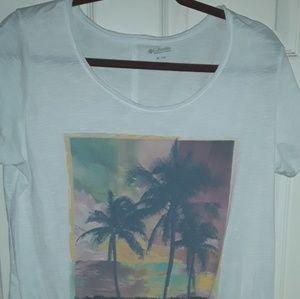 Columbia tshirt.
